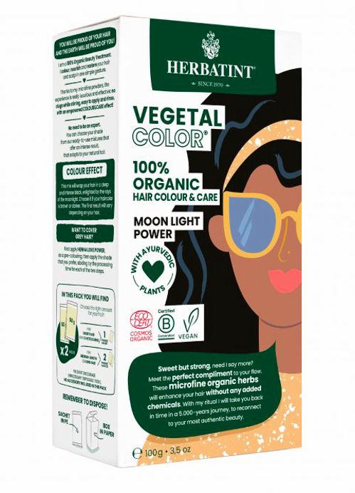 HERBATINT bio rostlinná barva na vlasy moonlight power Herbatint