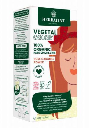 Herbatint HERBATINT bio rostlinná barva na vlasy pure caramel power