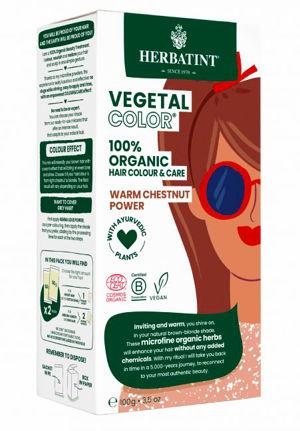 Herbatint HERBATINT bio rostlinná barva na vlasy warm chestnut power