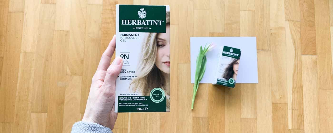 HERBATINT - jak vybrat správný odstín