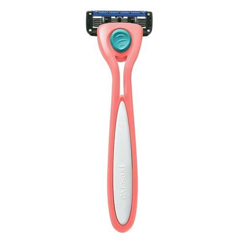 Holící strojek Shave 5 - korálově růžový Preserve