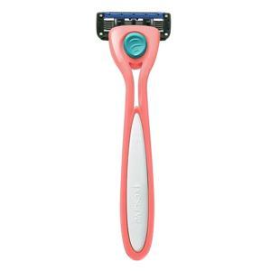 Preserve Holící strojek Shave 5 - korálově růžový