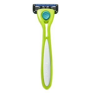 Preserve Holící strojek Shave 5 - limetkově zelený