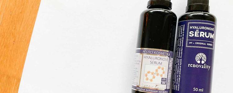 Hyaluronové sérum od Nobilis Tilia a Renovality