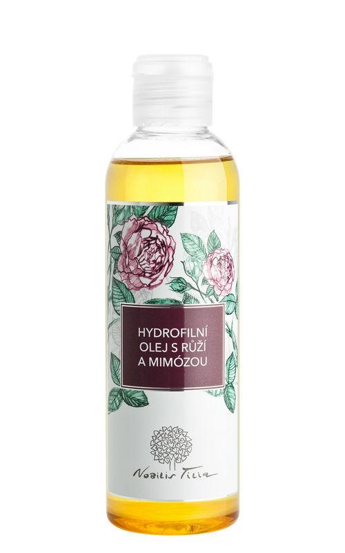 Hydrofilní olej s Růží a mimózou Nobilis Tilia