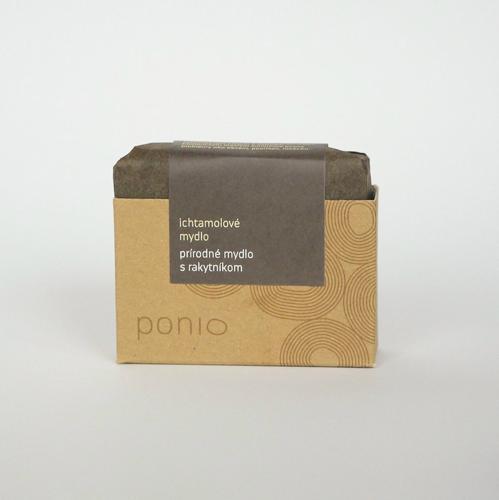 Ichtamolové přírodní mýdlo Ponio