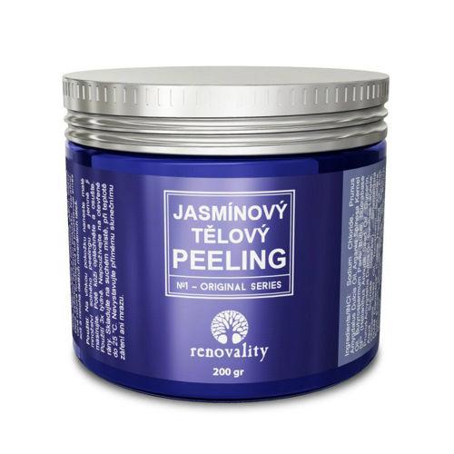 Jasmínový tělový peeling Renovality