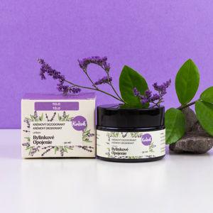 Navia/Kvitok Jemný krémový deodorant - Bylinkové opojení