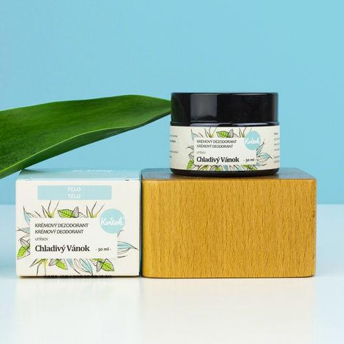 Jemný krémový deodorant - Chladivý vánek Navia/Kvitok