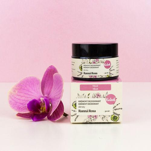Jemný krémový deodorant - Ranní rosa Kvitok