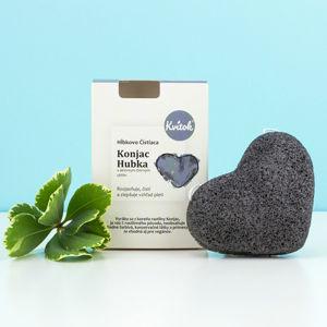 Navia/Kvitok Konjac houba s černým uhlím
