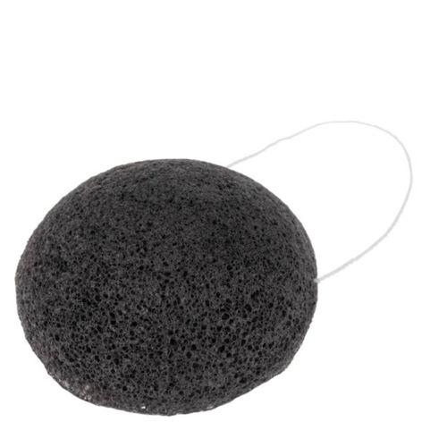 Konjaková houbička černá s bambusovým uhlím Anela