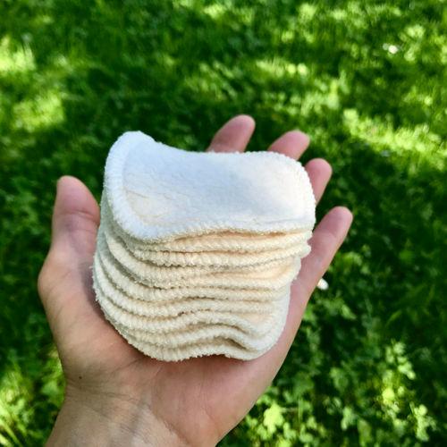 Kosmetický tampónek BIO bavlněný mini Toconeos
