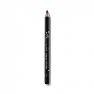100% Pure Krémová dlouhotrvající tužka na oči Blackest