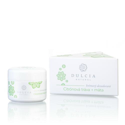 Krémový deodorant Citrónová tráva - máta Dulcia natural