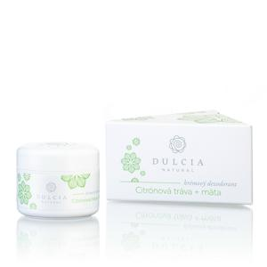 Dulcia natural Krémový deodorant Citrónová tráva - máta