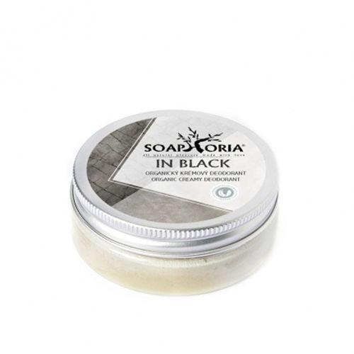 Krémový deodorant In Black Soaphoria