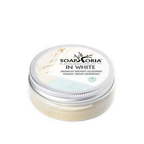 Krémový deodorant In White Soaphoria