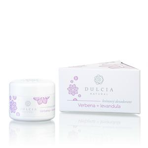 Dulcia natural Krémový deodorant Verbena - levandule