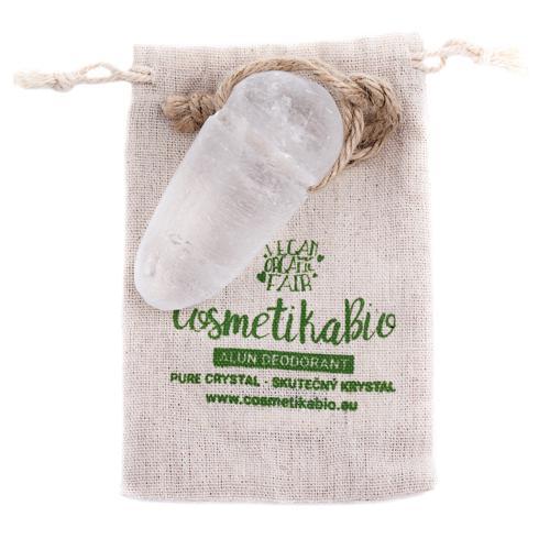 Krystalový deodorant Alun Cosmetikabio