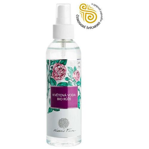 Květová voda BIO Růže 200 ml Nobilis Tilia