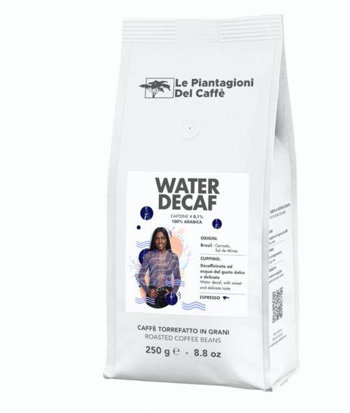 LA PIANTAGIONI DEL CAFFE Water decaf 100% arabica bez kofeinu Le Piantagioni del Caffe'