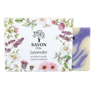 Savon Lavender - přírodní mýdlo s kozím mlékem