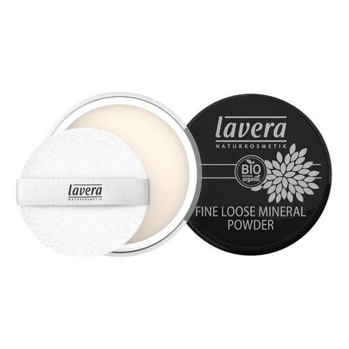 LAVERA jemný sypký minerální pudr transparentní Lavera
