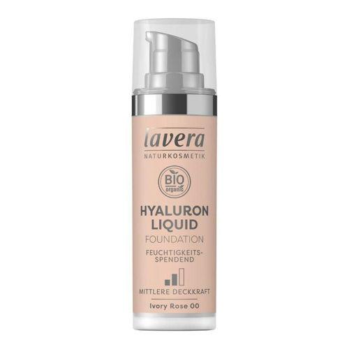 LAVERA lehký tekutý make-up s kyselinou hyaluronovou 00 slonová kost Lavera