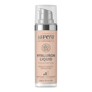 Lavera LAVERA lehký tekutý make-up s kyselinou hyaluronovou 00 slonová kost