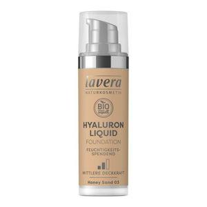Lavera LAVERA lehký tekutý make-up s kyselinou hyaluronovou 03 medová