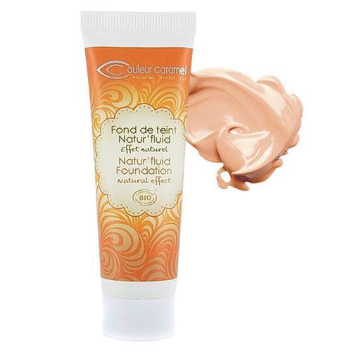 Lehký tekutý make-up 02 Natural Beige  Couleur Caramel