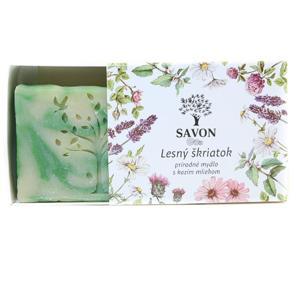 Savon Lesní skřítek - přírodní mýdlo s kozím mlékem