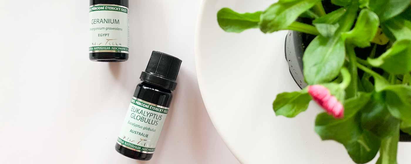 Letní aromaterapie
