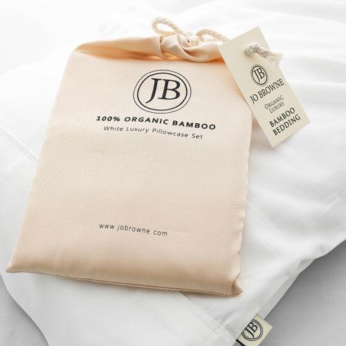 JO BROWNE Luxusní bambusové povlaky na polštář Bamboo Pillowcase Set JO BROWNE