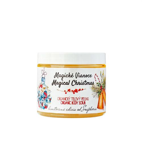 Magické Vánoce - organický solný tělový peeling Soaphoria