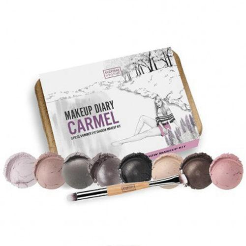 Make-up diary Carmel Kit Everyday Minerals