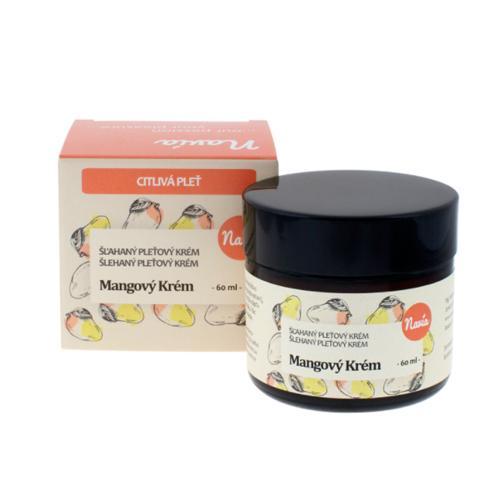 Mangový krém pro suchou a citlivou pleť Navia/Kvitok