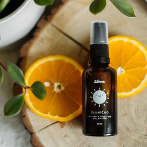 Alma Masážní a koupelový olej Sluníčko