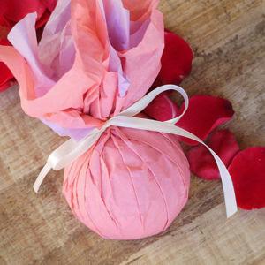 Ponio Masážní kostka Růžová alej XL