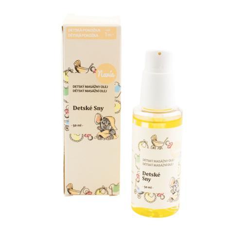 Masážní olej po koupání Dětské sny Navia/Kvitok