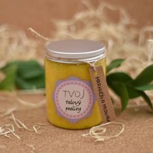 Tvoja kozmetika Meruňkovo-meduňkový tělový peeling 300 ml