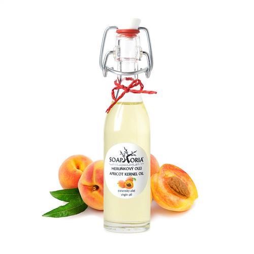 Meruňkový olej BIO panenský Soaphoria