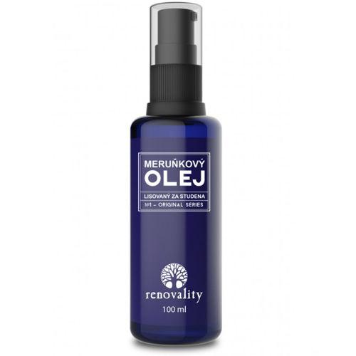 Meruňkový olej - za studena lisovaný Renovality