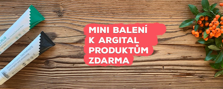 Mini balení k Argital produktům zdarma