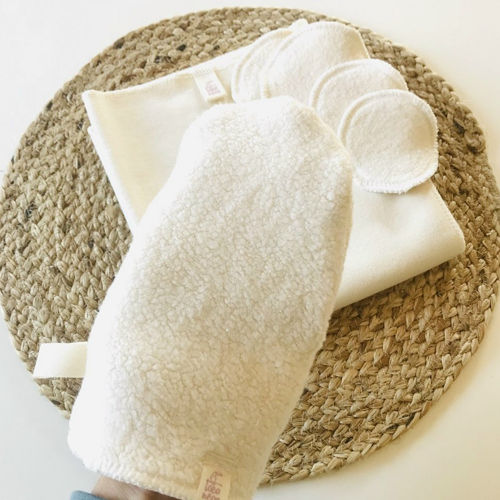 Mycí rukavička BIO bavlna Toconeos