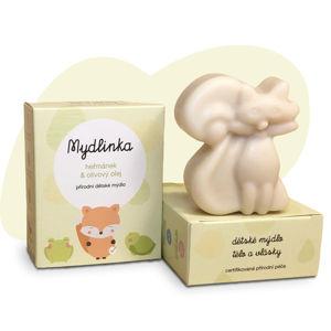 Mydlinka MYDLINKA Ručně vyráběné dětské mýdlo liška s heřmánkem