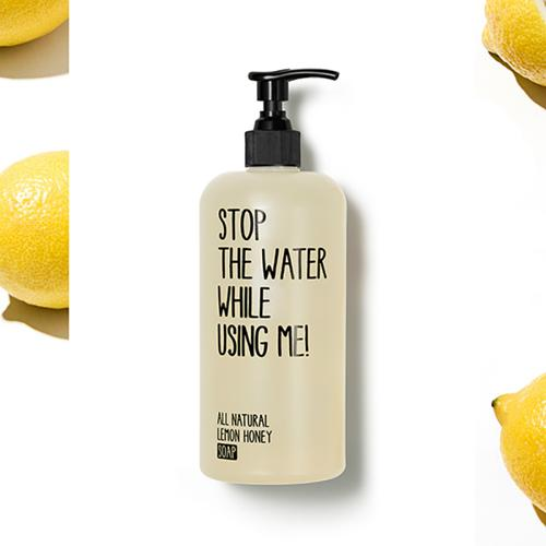 Mýdlo Citron & Med  Stop the Water While Using Me!
