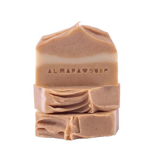 Mýdlo Curcuma & Honey pro mastnou problematickou pleť Almara Soap