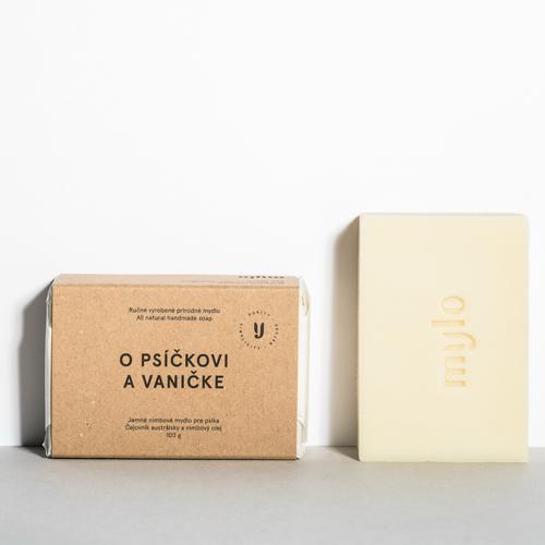 Mýdlo pro pejsky s nimbovým olejem Mylo